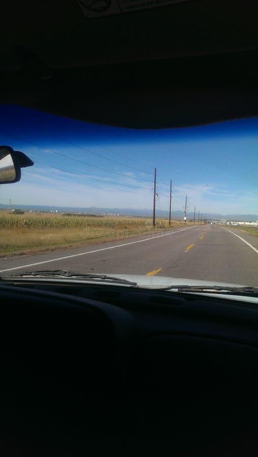País Colorado lateral foto de archivo