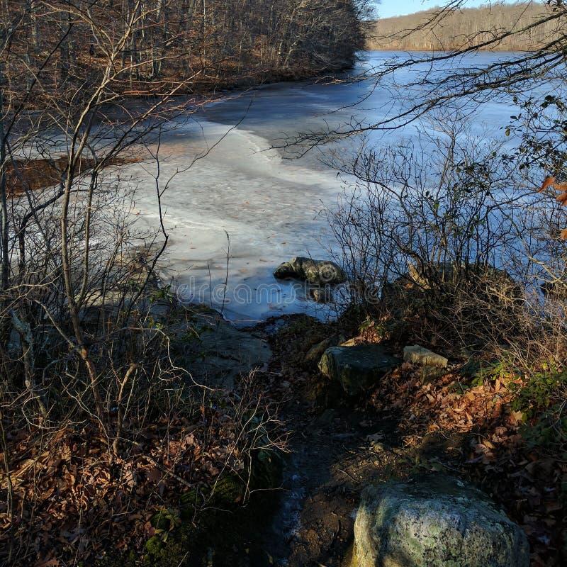 País das maravilhas do gelo fotografia de stock