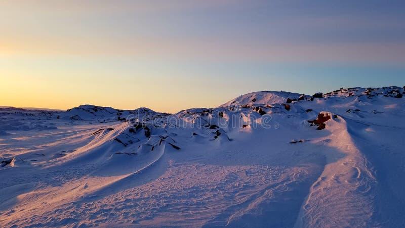 País de las maravillas congelado imagen de archivo