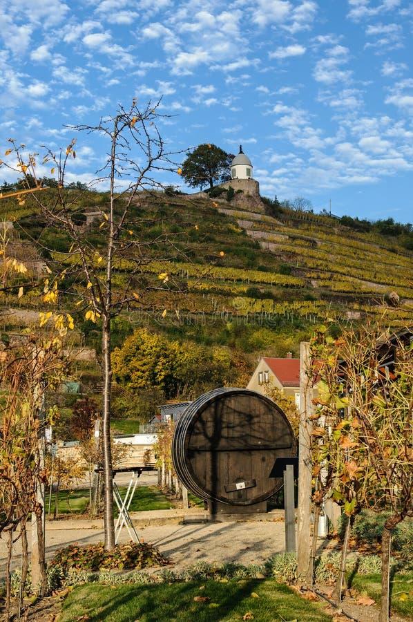 País de Radebeul da paisagem imagem de stock