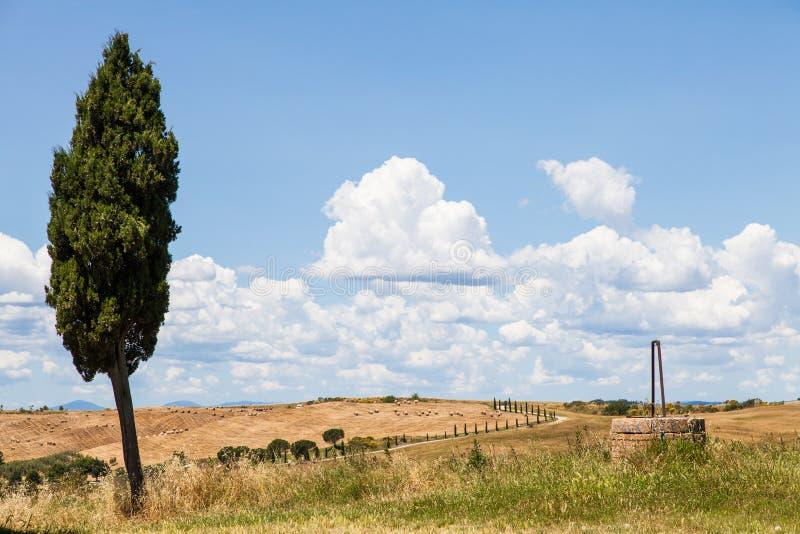 País de Tuscan imagens de stock royalty free