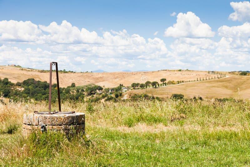 País de Tuscan fotografia de stock