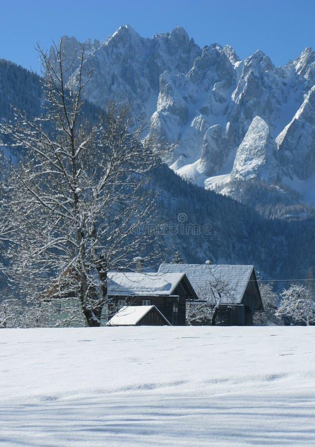País del invierno imagenes de archivo