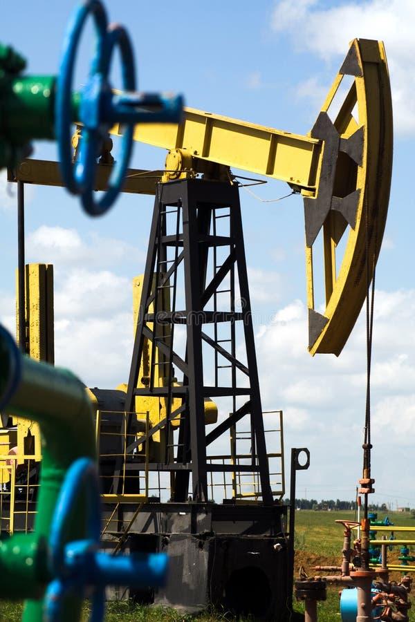 País del petróleo imágenes de archivo libres de regalías
