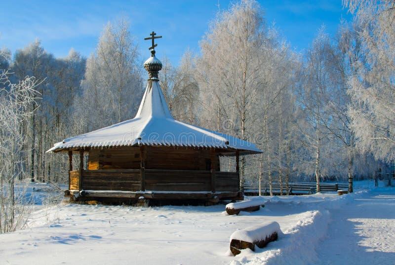 País do russo do inverno foto de stock royalty free