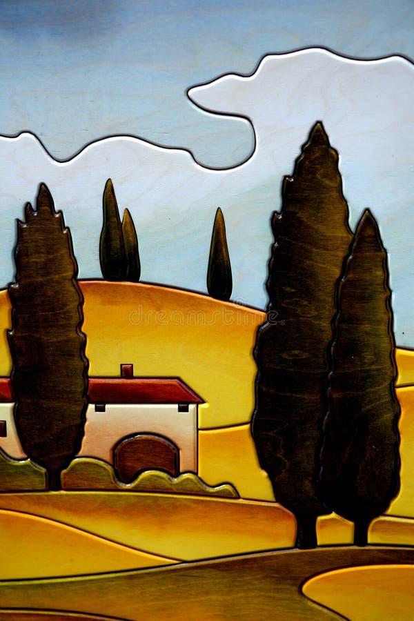 País toscano imagenes de archivo