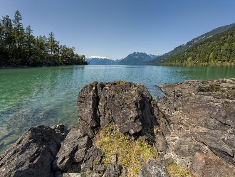 País traseiro do Columbia Britânica cercado pela beleza fotos de stock royalty free
