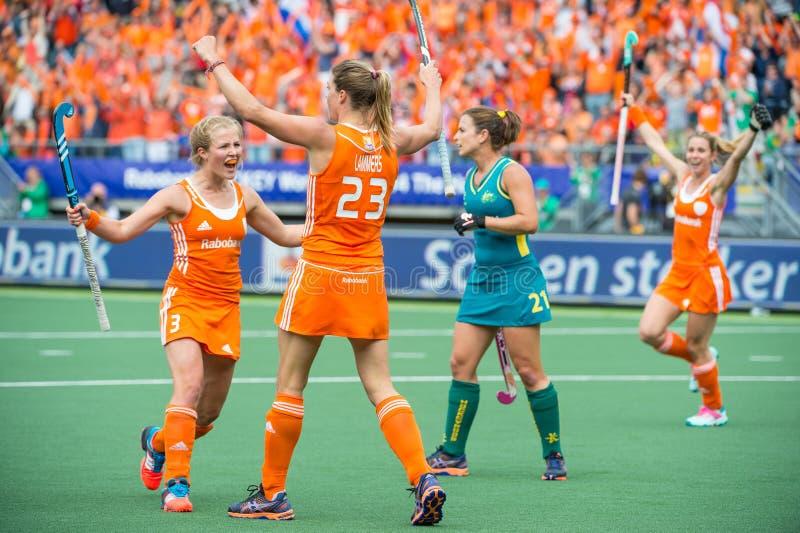 Países Bajos - Australia 2-0 fotos de archivo