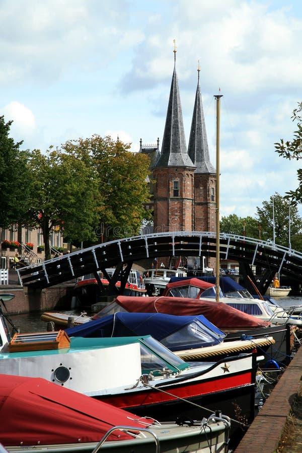 Países Bajos del â de Sneek. Provincia de Frisia fotos de archivo