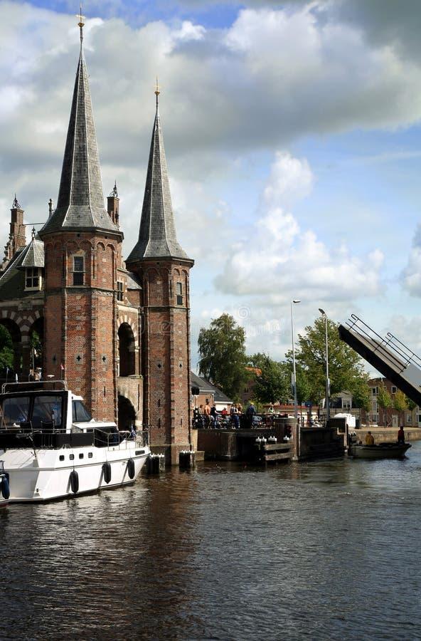 Países Bajos del â de Sneek. Provincia de Frisia imagen de archivo libre de regalías