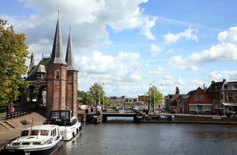 Países Bajos del â de Sneek. Provincia de Frisia imágenes de archivo libres de regalías