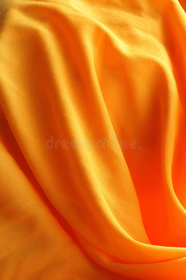 Paño amarillo foto de archivo libre de regalías