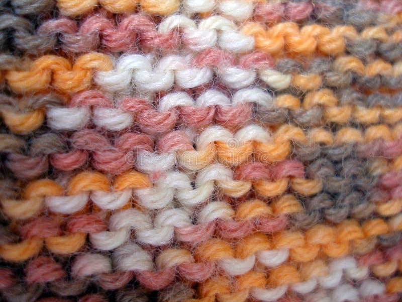 Paño de las texturas de una lana imagen de archivo