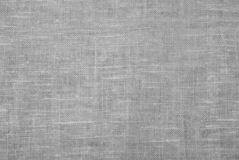 Paño De Lino Blanco Imagen de archivo