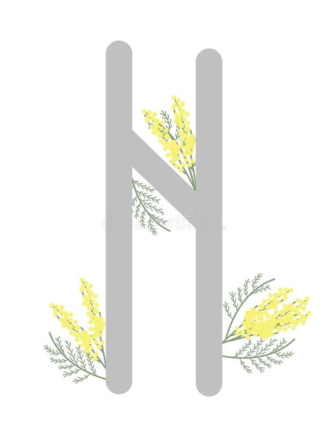 Paño grueso y suave Escandinavia Ejemplo del vector de las runas Hagalaz Halgalz El símbolo de la letra Futhark Esotérico espirit ilustración del vector