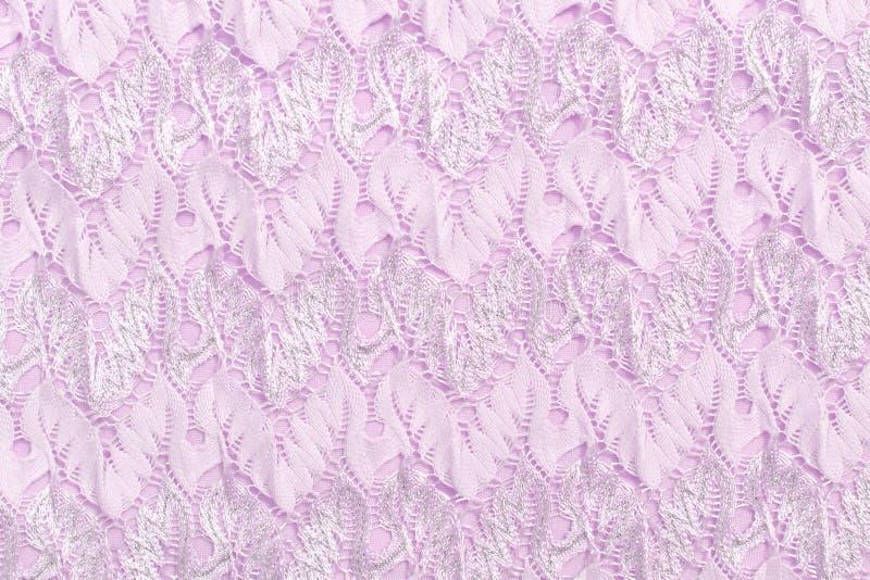 Paño rosado con el modelo grabado en relieve, primer Textura fotos de archivo