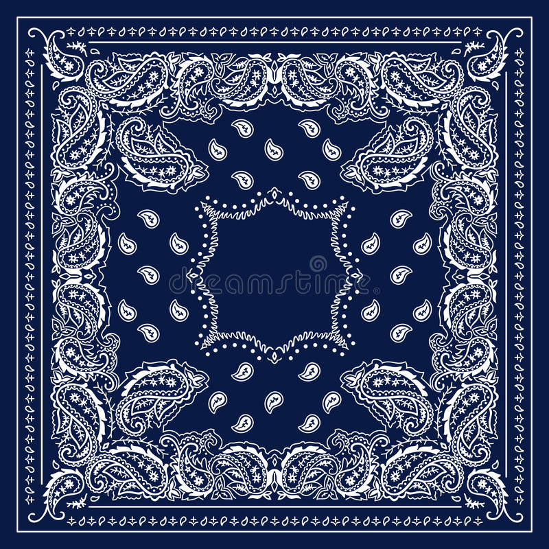 Pañuelo azul libre illustration