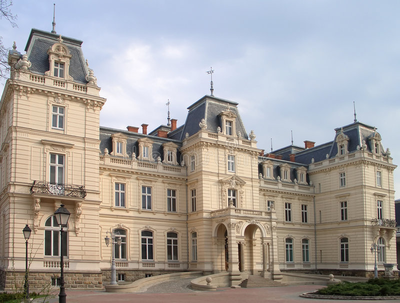 pałac zdjęcia stock