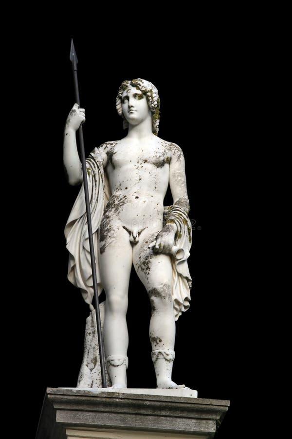 pałac achillion posąg obraz royalty free