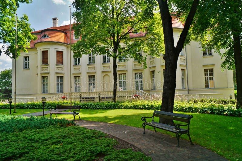 Pałac Alfred Biederman zdjęcia stock