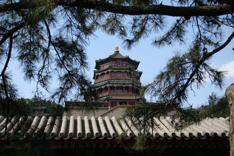 pałac beijing lato zdjęcia stock