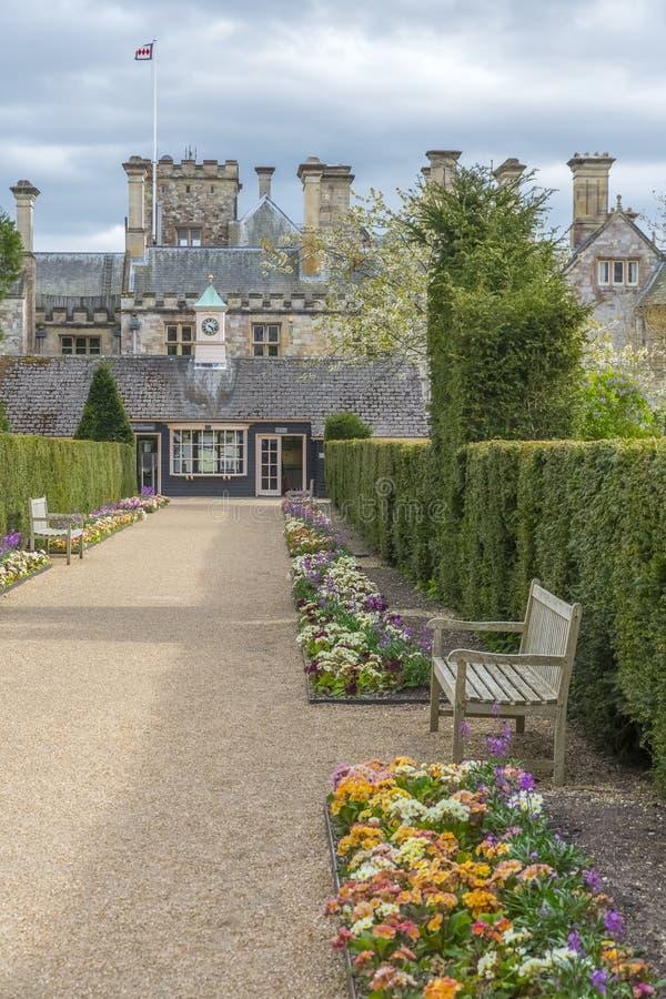Pałac dom, Beaulieu, UK zdjęcie royalty free