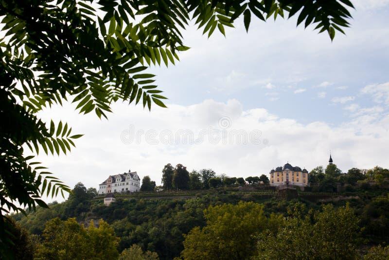 Pałac Dornburg zdjęcia royalty free