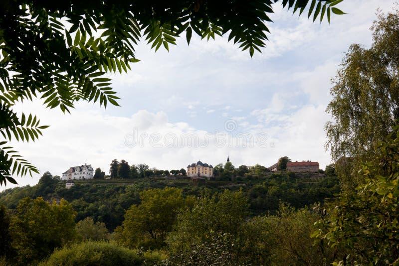 Pałac Dornburg fotografia royalty free
