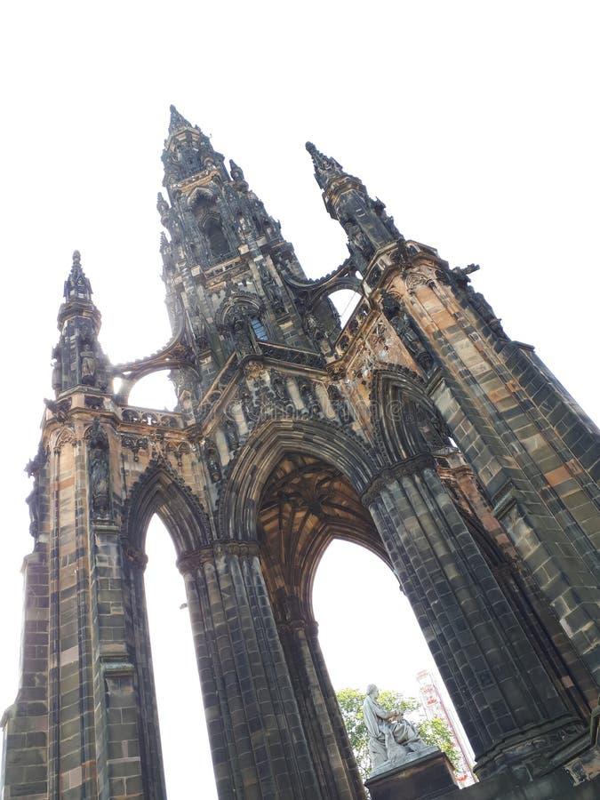 Pałac dotyka niebo zdjęcia royalty free