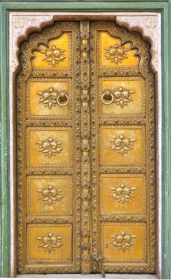 Pałac drzwi obraz royalty free