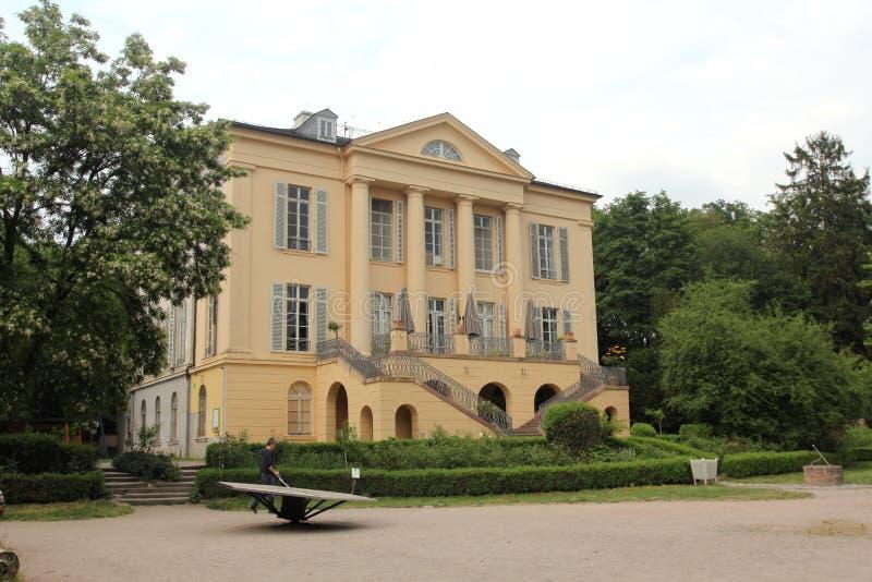 Pałac Freudenberg w Wiesbaden fotografia stock