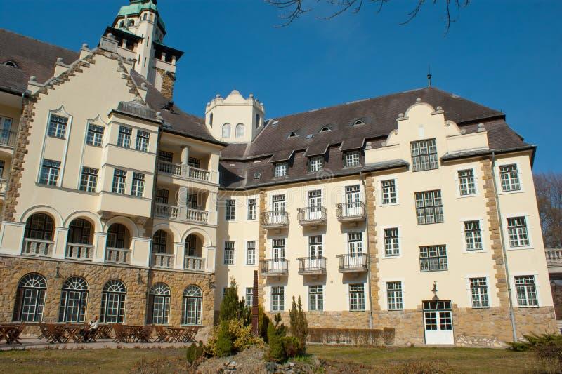 Pałac hotel w Lillafured obrazy stock
