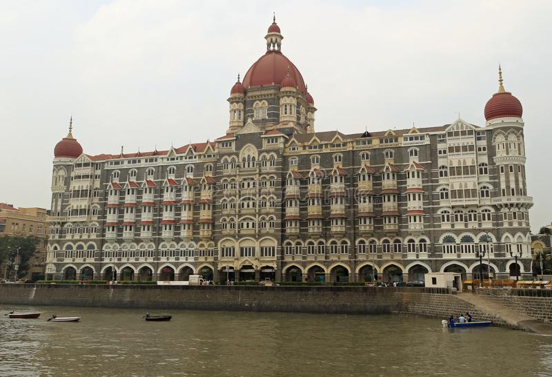 pałac hotelowy mahal taj obraz royalty free