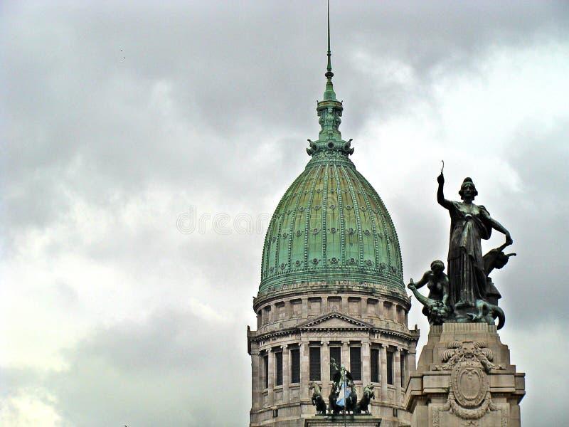 Pałac kongres, Argentyna fotografia stock