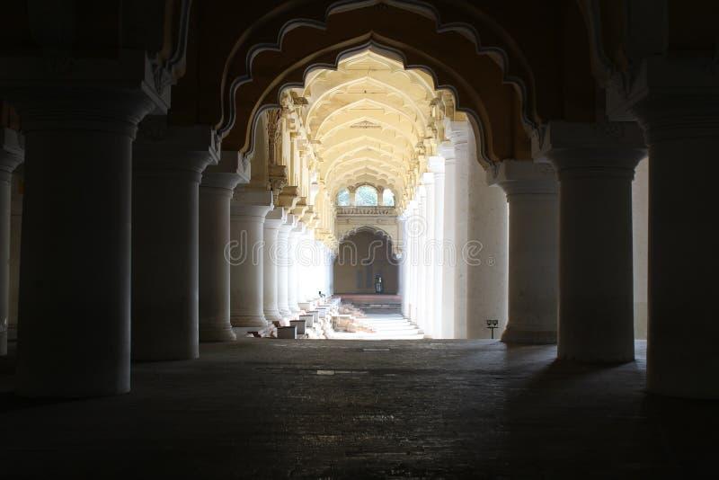 Pałac korytarz zdjęcia stock