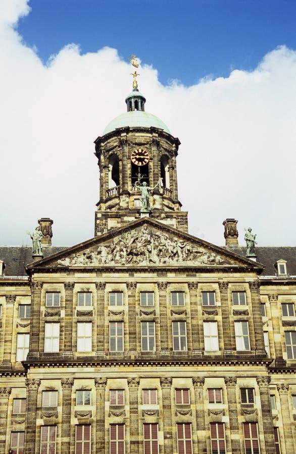 pałac królewski amsterdam zdjęcia royalty free