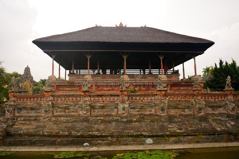 Pałac królewski, Klungkung, Bali, Indonezja fotografia royalty free