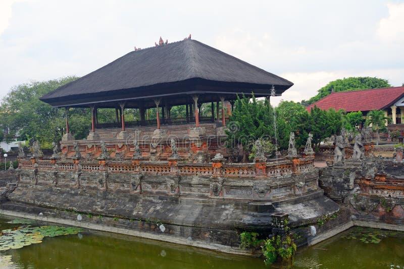 Pałac królewski, Klungkung, Bali, Indonezja obrazy royalty free
