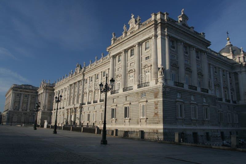 pałac królewski madryt fotografia royalty free