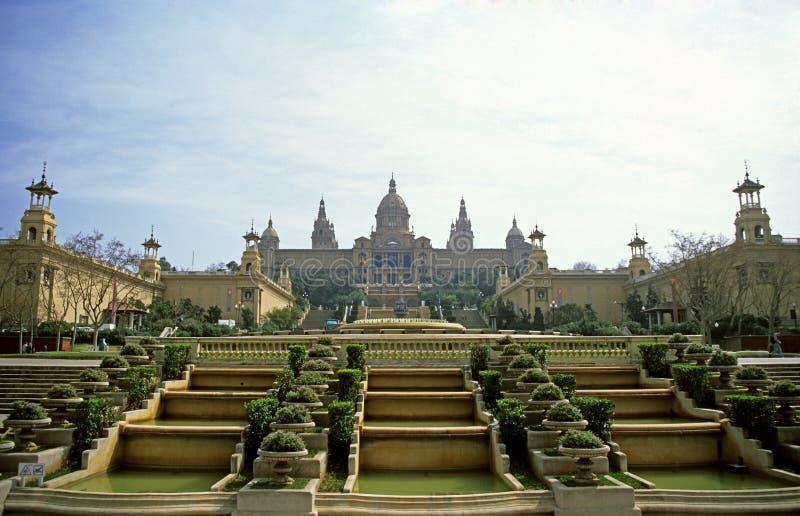 pałac królewski rana światła zdjęcia stock