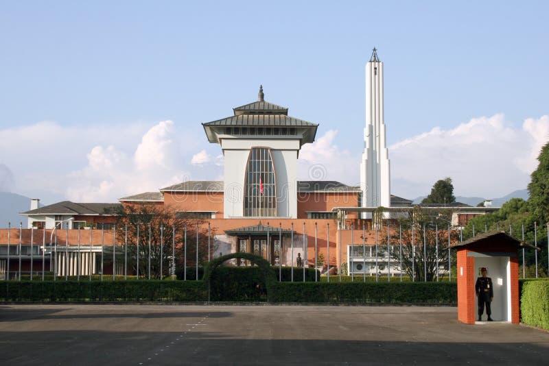 pałac królewski s nepalu zdjęcie royalty free