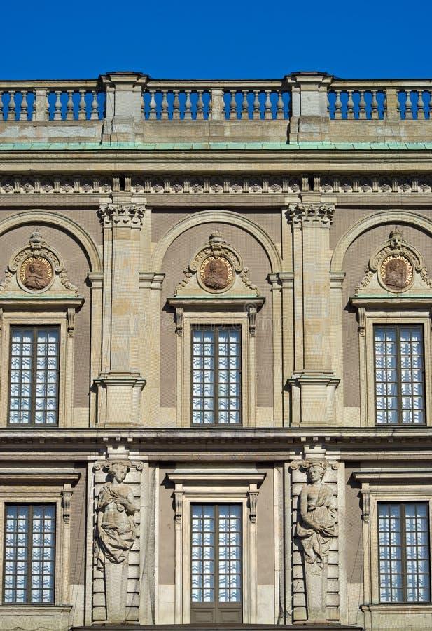 pałac królewski Stockholm obraz stock
