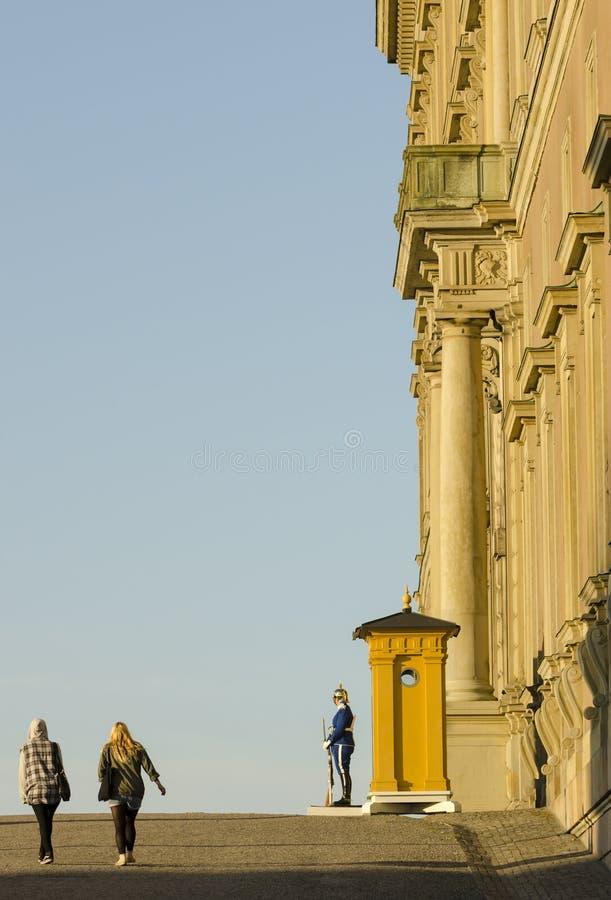 Pałac Królewski Sztokholm obraz royalty free