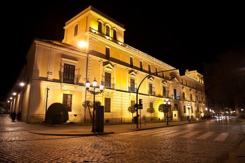 pałac królewski Valladolid fotografia stock