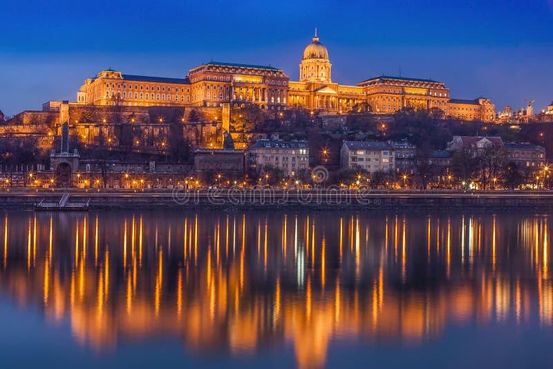 Pałac Królewski w Budapeszcie fotografia stock