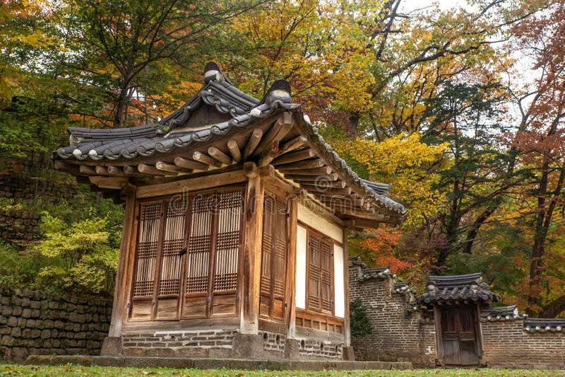 Pałac królewski w Seul obrazy stock