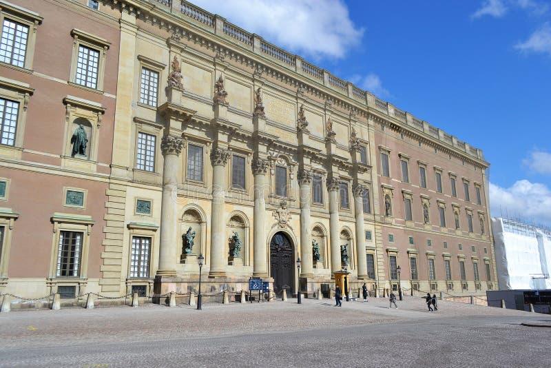 Pałac królewski w Sztokholm, Szwecja. zdjęcie royalty free