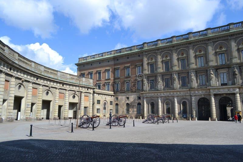 Pałac królewski w Sztokholm, Szwecja. zdjęcie stock