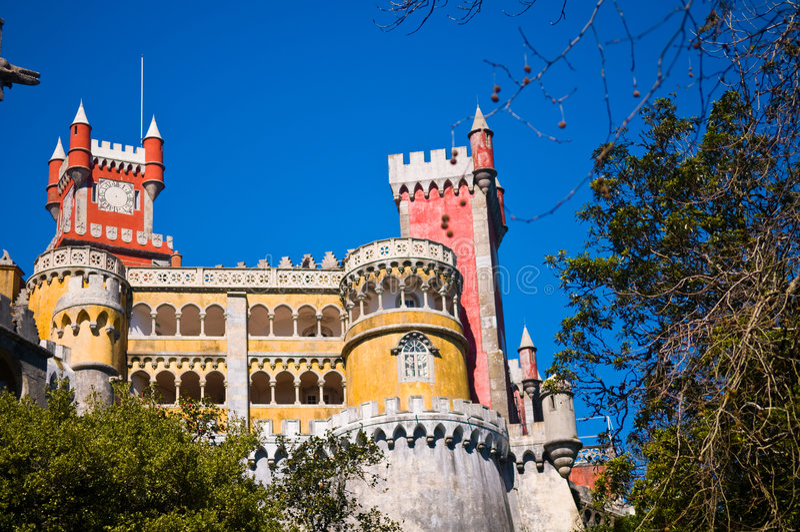 pałac krajowego pena zdjęcia stock