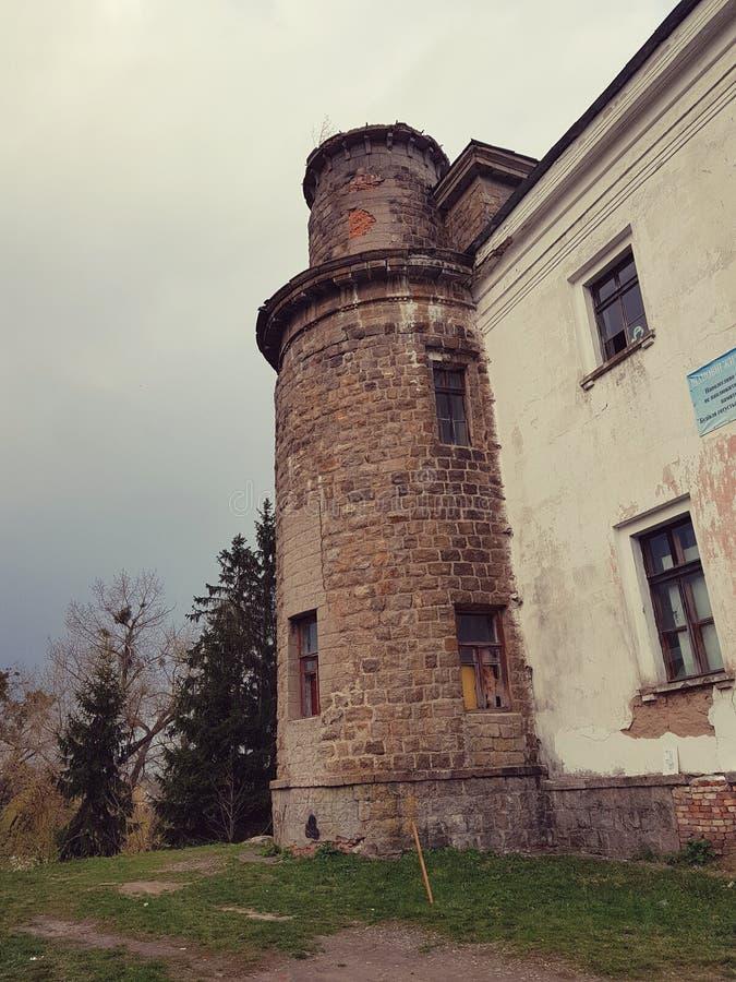 Pałac Ksido w Khmilnyk mieście, Ukraina zdjęcie stock